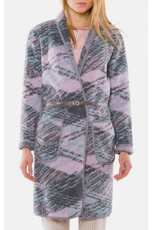 "Пальто жіноче ""Сабіна"" сірого кольору"