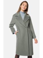 """Пальто жіноче """"Алісія"""" оливкового кольору"""