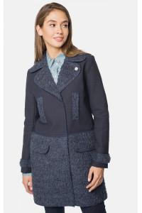 """Пальто жіноче """"Таяна"""" темно-синього кольору"""