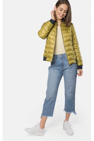 """Куртка женская """"Брук"""" оливкового цвета"""