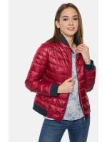 """Куртка жіноча """"Брук"""" червоного кольору"""