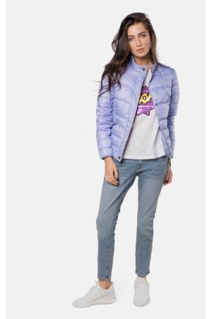 """Куртка жіноча """"Аліка"""" лілового кольору"""