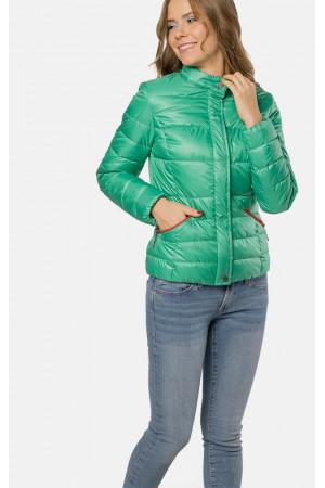 """Куртка женская """"Алика"""" зеленого цвета"""