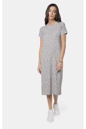 Платье «Надин» серого цвета