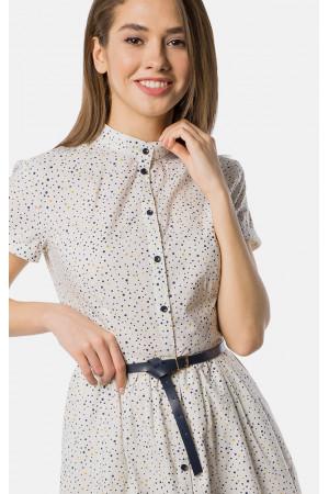 Платье «Рокси» белого цвета