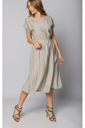 Сукня «Ясмін» оливкового кольору