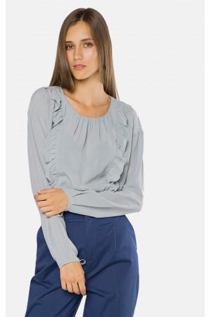 Блуза «Роузі» блакитного кольору
