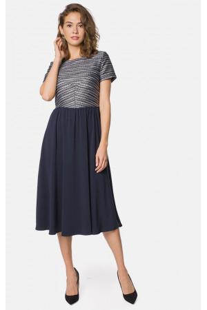 Сукня «Кендра» синього кольору