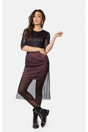 Платье «Долм» черного цвета