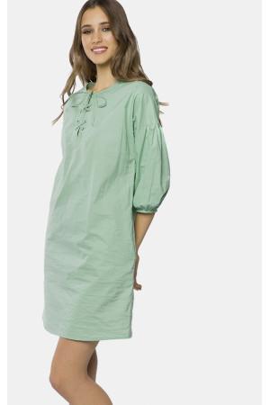 Платье «Мирти» зеленого цвета