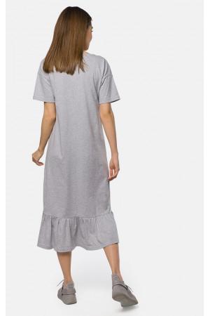 Сукня «Вейла» сірого кольору