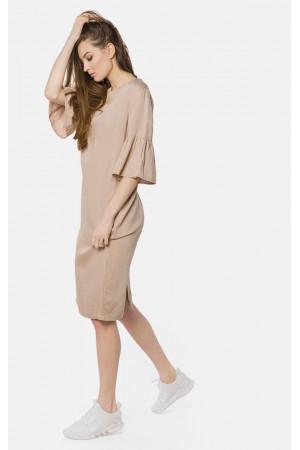 Сукня «Авія» бежевого кольору
