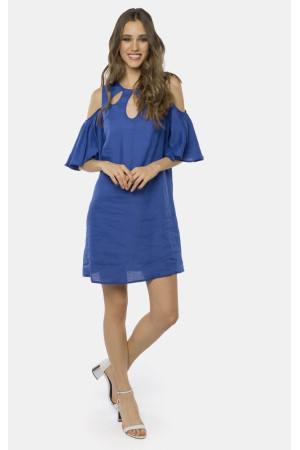 Платье «Лизетт» синего цвета