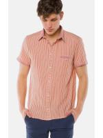 Мужская рубашка «Орман» розового цвета