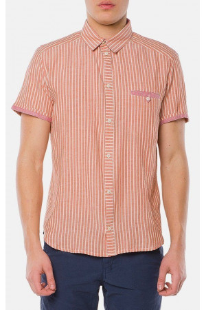 Чоловіча сорочка «Орман» рожевого кольору