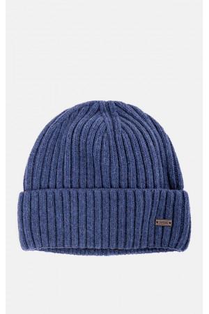 Мужская шапка «Лукас» синего цвета
