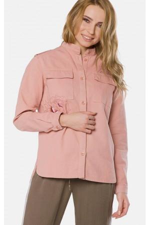 """Куртка-вітрівка жіноча """"Еліна"""" рожевого кольору"""