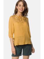 Блуза «Леона» коричневого кольору