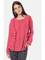 Блуза «Роузи» розового цвета