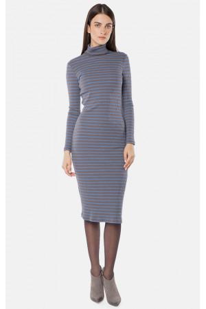 Платье «Александра» серого цвета