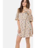 Платье «Эван» бежевого цвета