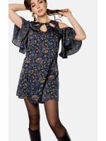 Платье «Эван» темно-синего цвета