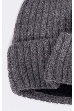 Мужская шапка «Герри» серого цвета
