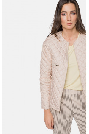 """Жіноча двустороння куртка """"Еріка"""" рожевого кольору"""