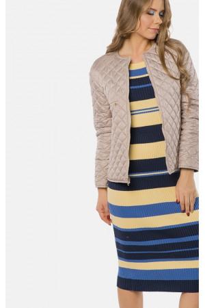 """Жіноча двустороння куртка """"Еріка"""" блакитного кольору"""