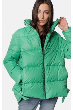 """Жіноча куртка """"Доріс"""" зеленого кольору"""