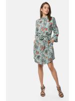 Платье-рубашка «Вивиан» мятного цвета