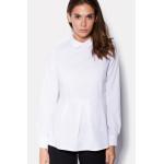Блуза «Биани» белого цвета