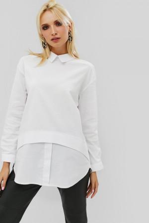 Женская рубашка «Алпик» белого цвета