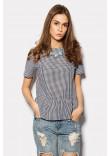 Блуза з баскою «Дефін»