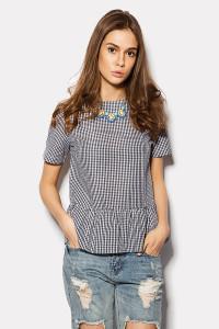 Блуза с баской «Дефин»