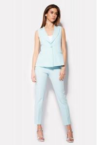 Женские брюки «Вокс» мятного цвета