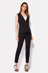 Жіночі брюки «Вокс» чорного кольору