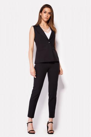 Женские брюки «Вокс» черного цвета