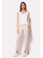 Жіночі брюки «Естрі» кольору пудри