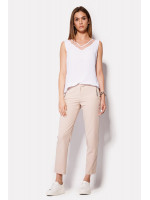 Женские брюки «Эстри» цвета пудры