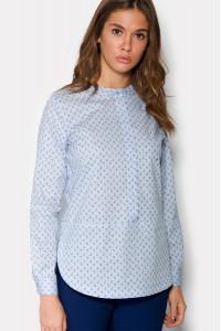 Блуза «Фло» блакитного кольору
