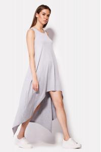 Платье «Джес» серого цвета