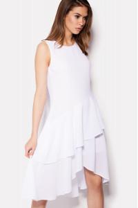 Платье «Энди» белого цвета