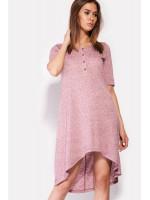 Платье «Корса» розового цвета