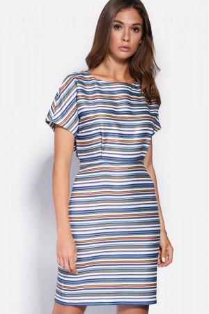 Платье «Фиори» синего цвета