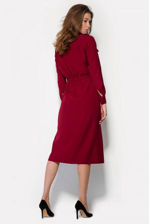 Сукня «Бостон» бордового кольору