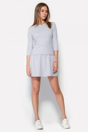 Сукня «Нед» сірий меланж