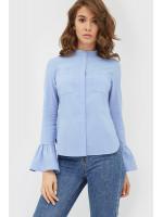 Рубашка «Алима» голубого цвета