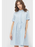 Сукня «Новео» біло-блакитного кольору