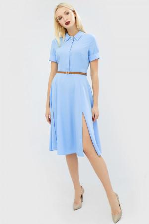 Платье «Виас» голубого цвета